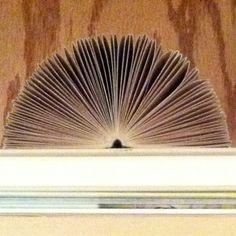 Folded book accordian