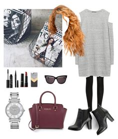 """First day in Los Angeles "" by emma-horan-73 on Polyvore featuring mode, Wolford, Zara, SWEET MANGO, MICHAEL Michael Kors, Michael Kors, NARS Cosmetics, Marc Jacobs, blacklUp et Zero Gravity"