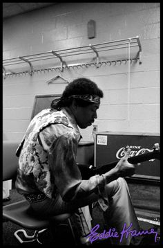 Backstage at Madison Square Garden