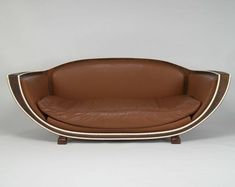 Art Deco Sofa by Marcel Coard for Jacques Doucet residence in Paris ca.1927