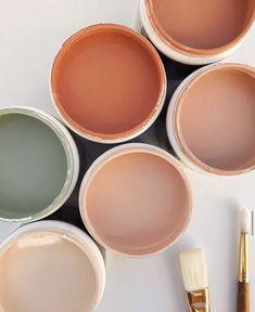 interior colour palette peach and green Colour Pallete, Colour Schemes, Colour Trends, Color Combos, Color Stories, Cheap Home Decor, Color Inspiration, Inspiration Boards, Wedding Inspiration