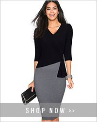 Women Sexy V Neck Stripe Work Office Pencil Dress Elegant Formal Draped Sheath Bodycon Slim Lady Dress HB418-in Dresses from Women's Clothing & Accessories on Aliexpress.com | Alibaba Group