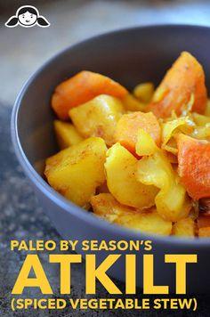 Paleo By Season's Atkilt (Spiced Ethiopian Vegetable Stew) http://nomnompaleo.com