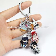 Anime Black Butler keychain Kuroshitsuji keychain rabbit metal model toy pendants figures alloy fashion keychain keyring, View keychains, donnatoyfirm Product Details from Guangzhou Donna Fashion Accessory Co., Ltd. on Alibaba.com