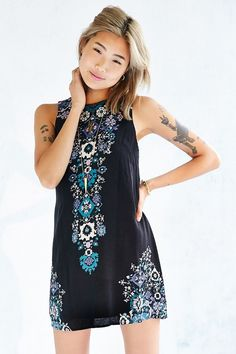 Ecote Guinevere Open-Back Frock Dress $69 $39.99