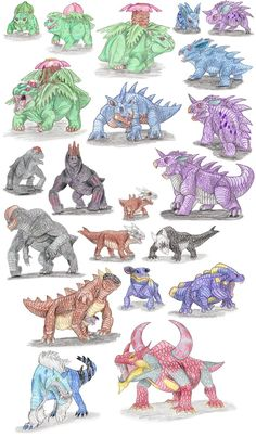 Therapsidian Pokemon by DragonlordRynn on DeviantArt Pokemon Funny, Pokemon Memes, Pokemon Go, Pokemon Na Vida Real, Pokemon In Real Life, Dinosaur Pictures, Pokemon Pictures, Pokemon Sketch, Pokemon Breeds