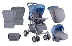 Lorelli Aero Set 0+ cochecito con siège-auto 2-en-1azul  #carritosbebeorg http://carritosbebe.org/producto/lorelli-aero-set-0-cochecito-con-siege-auto-2-en-1-azul/