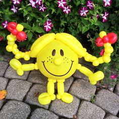 Day 277: Little Miss Sunshine (#MrMen & #LittleMiss) #BalloonAnimals
