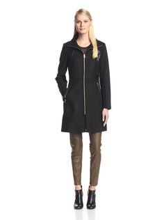 Via Spiga Women's Coat with Faux Leather Trim, http://www.myhabit.com/redirect/ref=qd_sw_dp_pi_li?url=http%3A%2F%2Fwww.myhabit.com%2Fdp%2FB00ZA0EEA2%3F