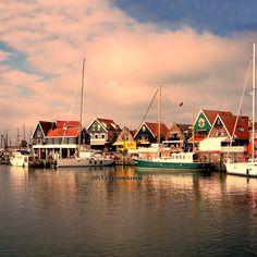 Little fishermen's village, a 30K bicycle ride from Amsterdam (Volendam, Netherlands)