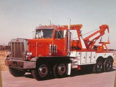 Peterbilt with early Challenger 1060 & Drag winch....