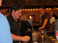 People are happy when they are at Candicci's Restaurant and Bar.  We know how to entertain @ Candicci's.