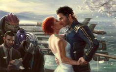 Shepard and Kaiden wedding!