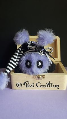 cute Mimi Plushie Viola – My Pin's Stuffed Animals, Fantasy Wesen, Cute Creatures, Plushies, Hand Sewing, Favorite Color, Euro, Great Gifts, Told You So