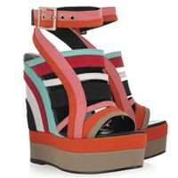 Pierre Hardy Canvas Wedges.. mMMMmm makes me count down the days 'til spring!