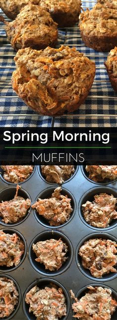 Carrots, cinnamon, oats, raisins and more combine for these flavorful morning muffins. Enjoy! | Clearly Organic Nutritionist Corner