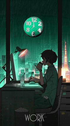 Anime Backgrounds Wallpapers, Anime Wallpaper Phone, Anime Scenery Wallpaper, Animes Wallpapers, Sky Anime, Dark Anime, Anime Art, Japon Illustration, Anime Kawaii