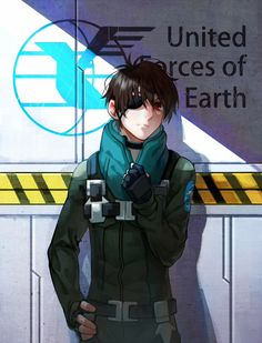 Kaizuka Inaho | Aldnoah Zero <-- the patch is on the wrong side, but oh well