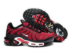 the latest 544af f378f Chaussures de Nike Air Max Tn Requin Homme Rouge et Noir Tn Nike 2013 Soldes  Chaussures
