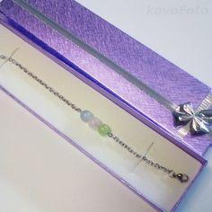 Nerezový náramek s minerály pro znamení vah - s růženínem, akvamarínem a jadeitem Arrow Necklace, Jewelry, Fashion, Moda, Jewlery, Jewerly, Fashion Styles, Schmuck, Jewels
