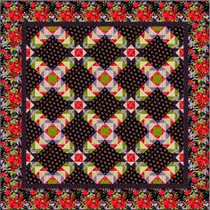 Modern Romance by Nancy Rink of Nancy Rink Designs for Marcus Fabrics.  Pattern