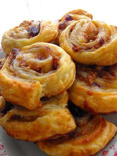 As receitas lá de casa: Folhados de puré de maçã