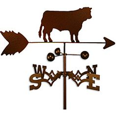 Shop for Handmade Steer Cow Weathervane . Get free shipping at Overstock.com - Your Online Garden