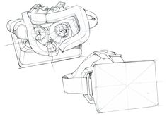 Virtual Reality Head-mounted Display Concept on Behance ...