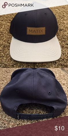 Men's Matix SnapBack Hat Worn once. One size fits all. Matix Clothing Company Accessories Hats
