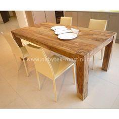 Forest - jídelní stůl z masivu palisandru   NÁBYTEK Z EXOTICKÉHO DŘEVA