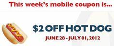 $2 OFF Hot Dog at Regal Cinemas on http://www.icravefreebies.com