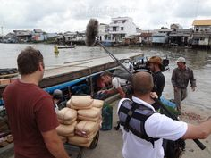 Wild Things with Dominic Monaghan shooting in Vinh Long, Mekong Delta - Asia Film Fixers