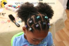 Chocolate Hair / Vanilla Care: Two Strand Rope Twist Veil with Two Puffs