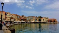 Chania's Venetian Harbour.