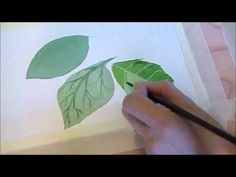 ▶ Three Techniques for Painting Leaves in Watercolor - YouTube