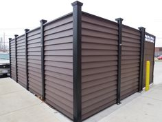Covrit dumpster screen by CityScapes