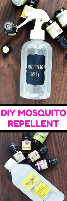 Going camping? Try these camping tips and hacks! DIY Mosquito Repellent Spray - This easy homemade… -Read Mosquito Repellent Essential Oils, Diy Mosquito Repellent, Essential Oil Bug Spray, Natural Mosquito Repellant, Essential Ouls, Insect Repellent Spray, Citronella Essential Oil, Diy Hacks, Misquito Repellant