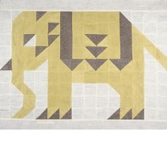 Elephant Ararat quilt block
