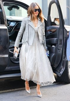 Le look de Jessica Alba  © KCS Presse