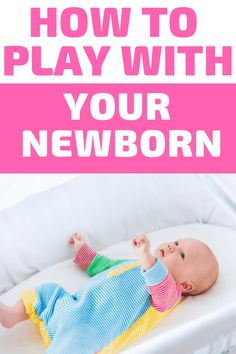 Newborn Activities: Are you looking for ways to play with your newborn? These baby play activities are simple and promote infant learning. Third Baby, First Baby, Newborn Activities, Family Activities, Learning Activities, Baby Lernen, Baby Supplies, After Baby, Baby Development
