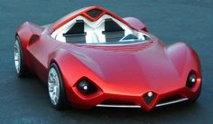 Alfa Romeo Disco Volante Concept Some of the concept cars that have been made by the Italian Alfa Romeo company. Best Car Ever. Love Red heart and soul, best sport jot car. Sexy, StanPatzitW