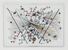 The first museum retrospective of the work of Monir Shahroudy Farmanfarmaian, the Iranian grande dame of geometric art, on display at Portugal's Serralves Museum, moving to New York this March