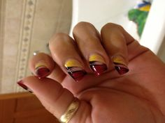 #Redskins nails for the playoff game vs Seattle. Almost the same as the 1st time, but better:) #HTTR