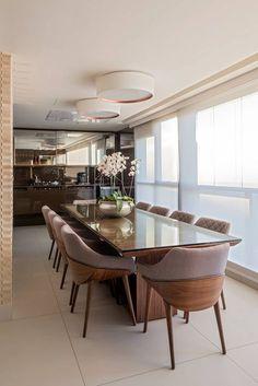 Apartamento Seis Pistas 2: Terraços por Interiores Iara Santos
