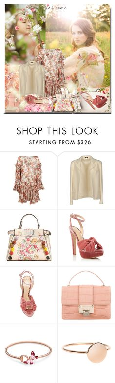 """""""It's here...."""" by sue-mes ❤ liked on Polyvore featuring IRO, Tom Ford, Fendi, Charlotte Olympia, Jimmy Choo, Gucci and Ilia"""