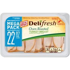 $1.00 Off Any One Oscar Mayer Deli Fresh Meat Mega Pack 22oz With Printable Coupon!