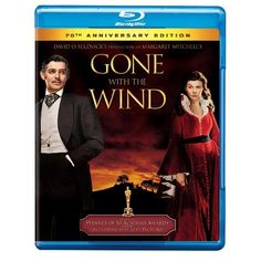 Amazon.com: Gone with the Wind (70th Anniversary Edition) [Blu-ray]: Clark Gable, Thomas Mitchell, Vivien Leigh, Olivia De Havilland, Leslie Howard, Victor Fleming, Hattie McDaniel: Movies & TV