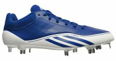 New ADIDAS AdiZero 5-Tool Low Mens Baseball Cleats - Metal - Royal Blue / White