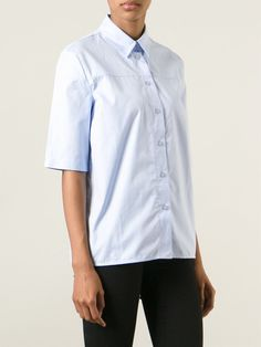 #victoriabeckham #shirt #blue #lightblue #denim #womens www.jofre.eu