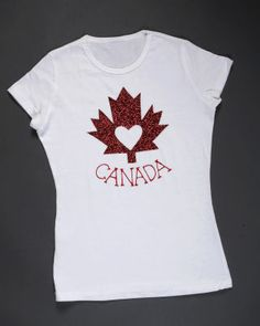 canada t-shirt craft Canada Day Shirts, Holiday Crafts, Holiday Ideas, Canada Day Crafts, World Thinking Day, Canada Eh, International Day, True North, Girl Scouts